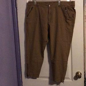 20WP khaki pants plus size
